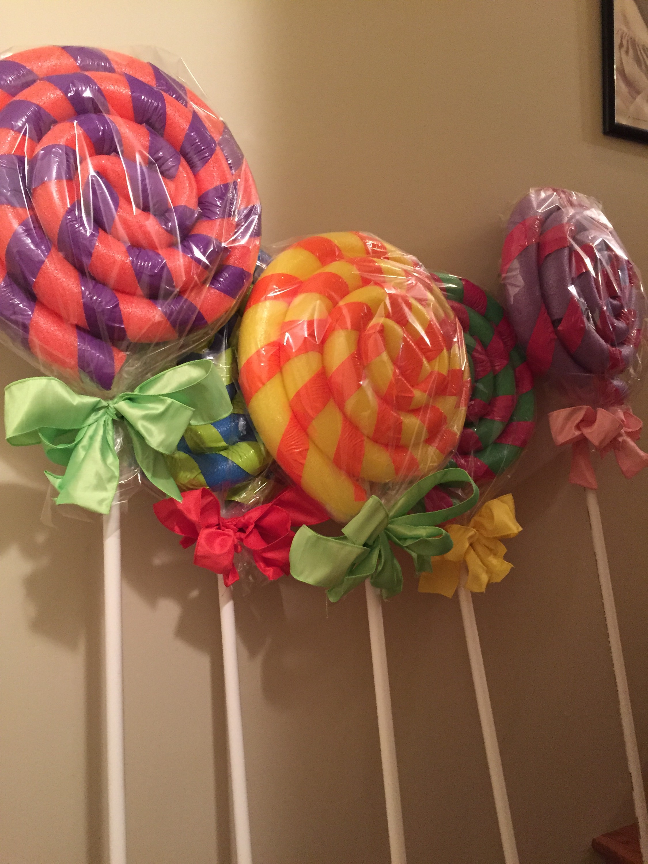 These giant lollipops are going in my lollipop woods section of ...